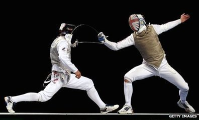 BBC Sport - London 2012: Jamie Kenber uses poker skills to help fencing | Fencing for ALL | Scoop.it