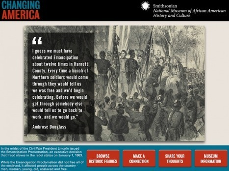To Be Free - A Smithsonian App About the Emancipation Proclamation | Educación para el siglo XXI | Scoop.it