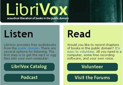 LibriVox: audiolibros de dominio público | Libros electrónicos | Scoop.it