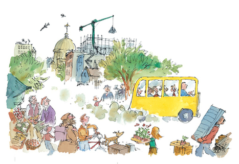 Quentin Blake's 7 golden rules of illustration - How To - Artists & Illustrators - Original art for sale direct from the artist | Illustrators, artists, photographers | Scoop.it