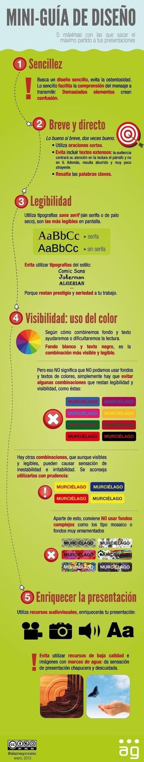 ¿Cómo crear excelentes presentaciones en Power Point? [Infografía] | Café puntocom Leche | Scoop.it