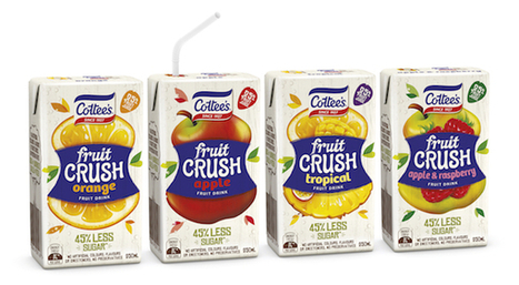 Cottee's enters juice category with Fruit Crush – a healthier alternative to its famous cordial | Digital-News on Scoop.it today | Scoop.it