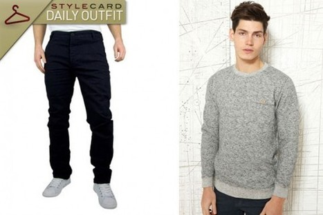 Men's Monday: Daily Outfit – Seasonal Festivities | StyleCard Fashion Portal | Fashion for all man kind | Scoop.it