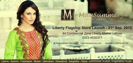 Mausummery  Stylish Dress Collection on Eid-ul-Adha  2013 (1) | fashion | Scoop.it