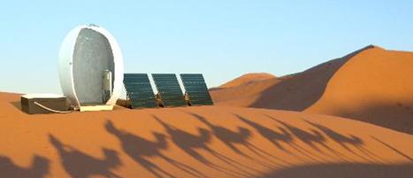 La douche qui recycle l'eau 50 fois | Les déserts dans le monde | Scoop.it