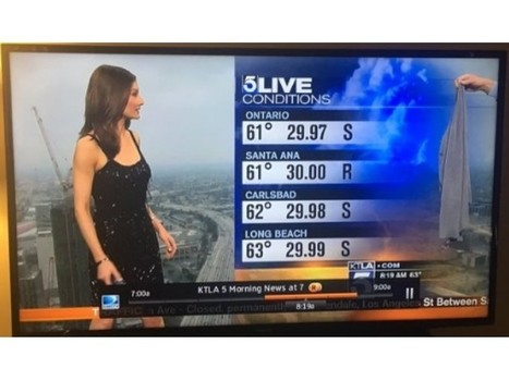 KTLA Reporter Forced To Cover Up With Sweater Live On Air | Gender and Crime | Scoop.it