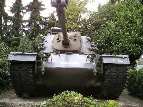 Tank M48 Patton – WalkAround | History Around the Net | Scoop.it