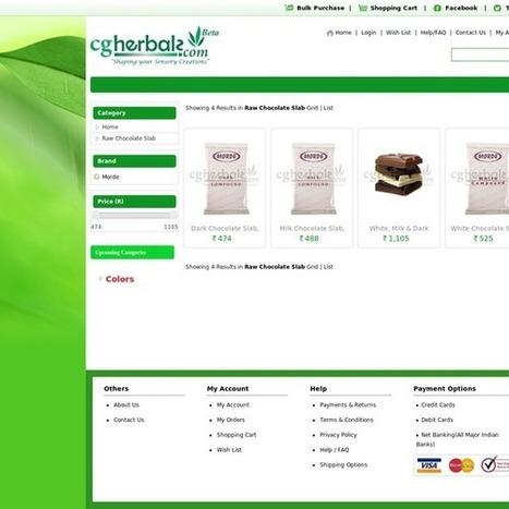 Raw Chocolate Slab with best price | Herbals | Scoop.it