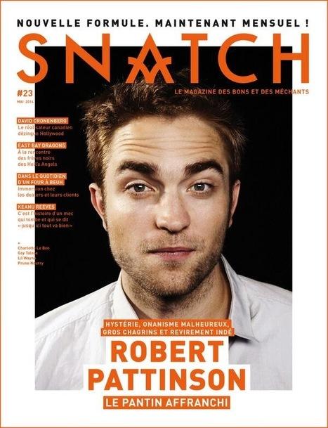 SNATCH: Robert Pattinson - Chronicle Of A Changing Icon | Robert Pattinson Daily News, Photo, Video & Fan Art | Scoop.it