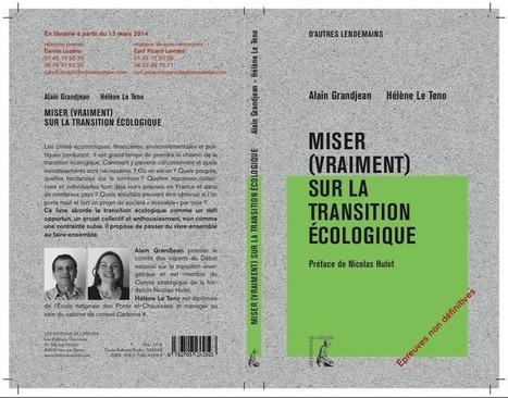 Miser (vraiment) sur la transition écologique | Le site d'Alain Grandjean | Transitions | Scoop.it