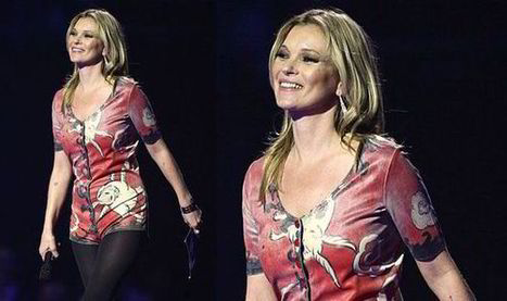 BRIT AWARDS 2014: Kate Moss accepts David Bowie's award in ...   david bowie   Scoop.it