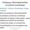 Web 2.0 et réseaux sociaux : quels impacts sur la formation à la culture informationnelle ?