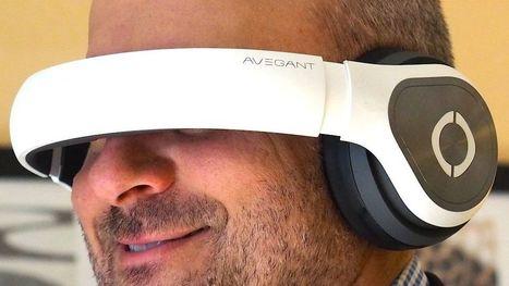 Avegant's personal theater headset looks like a pair of premium headphones | Low Power Heads Up Display | Scoop.it