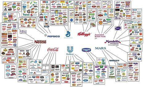 This Infographic Shows How Only 10 Companies Own All The World's Brands | :: The 4th Era :: | Scoop.it