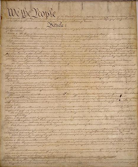 Demystifying the Law: The U.S. Constitution | In and About the News | Scoop.it