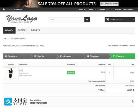 PrestaShop partners with Alipay   BuyBox Digital Giftcard Technology   Scoop.it