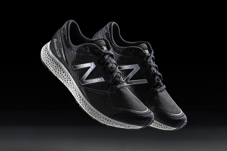 New Balance is 3D-Printing Performance Running Midsoles | #Design | Scoop.it