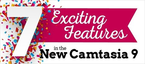 Webinar: 7 Exciting Features in the New Camtasia - eLearning Brothers | eLearning Tips | Scoop.it