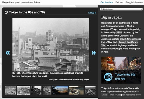 The rise of megacities - interactive | Interactive & Immersive Journalism | Scoop.it