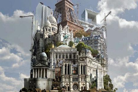 Paris en 3D sur le parvis de l'Hôtel de Ville - Paris.fr | Clic France | Scoop.it