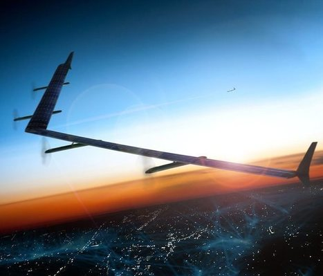 Facebook's Aquila Drone Will Beam Down Internet Access With Lasers | MarketingHits | Scoop.it