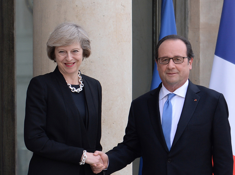 Francois Hollande tells Britain to leave the EU as soon as possible | Politics Scotland | Scoop.it