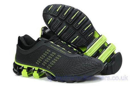Adidas Porsche Design Sport Bounce S3 Running Shoes Black Green.jpg (640x425 pixels) | springbladeuktrainers.co.uk | Scoop.it