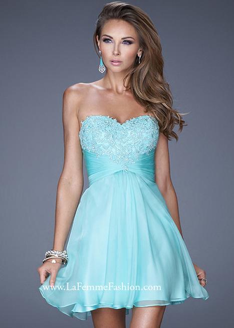 Seamist A Line Sweet Lace Beaded Chiffon Short Homecoming Dress for Girls [La Femme 20574 Seamist] - $145.00 : Hot Sale Prom Dresses & Homecoming Dresses For Cheap | prom dresses | Scoop.it