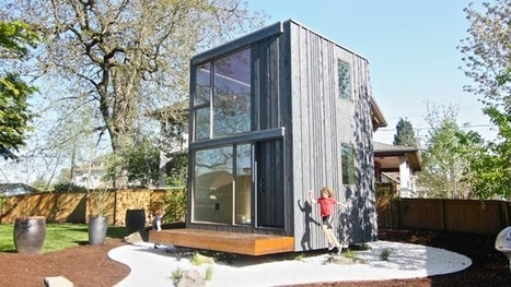 Portland tiny house rotates to follow the sun | L'usager dans la construction durable | Scoop.it