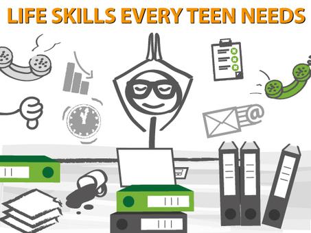 9 Life Skills Every Teen Needs | Paschal High School Web Tools for Teachers | Scoop.it