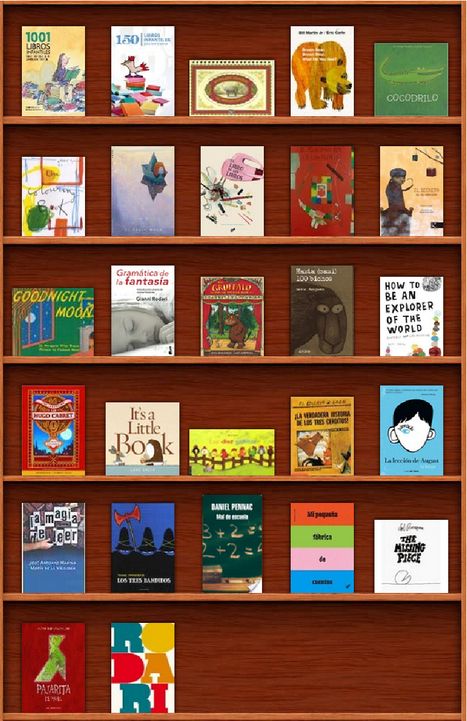 Estantería virtual con sugerencias de lectura para BIBES | Bibliotecas escolares para curiosos | Scoop.it