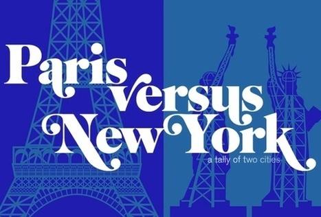 """Notre Avis sur le Livre """"Paris Vs New York"""" de Vahram Muratyan   New York et Paris - Capitales.   Scoop.it"""