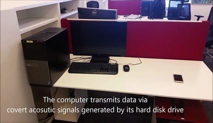 Vidéo : ils piratent des données en écoutant les bruits du disque dur | IE & Cie | Scoop.it