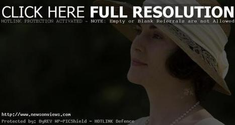 Michelle Dockery: Nervous at gala events | Latest News | Scoop.it