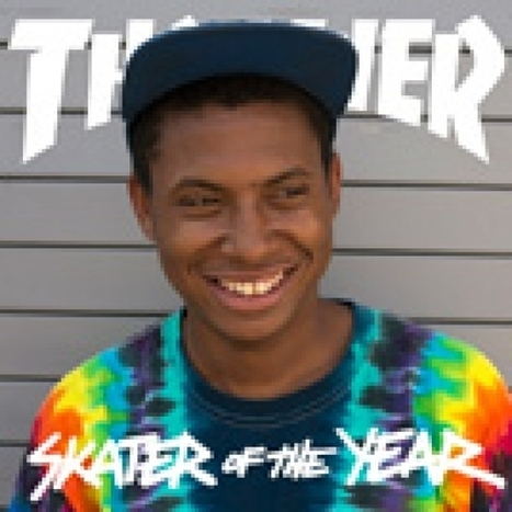 Thrasher Skateboard Magazine   2013 SKATER OF THE YEAR: ISHOD WAIR   Skateboarding   Scoop.it