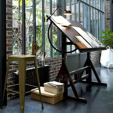 Un coin bureau à la fenêtre : idées d'aménagement et de déco | Astuces pratiques Déco | Scoop.it