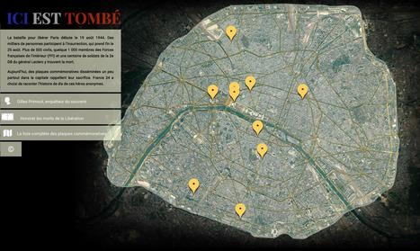 [Cartographie] Découvrez l'histoire de 10 HÉROS tombés pour la Libération de Paris | Le BONHEUR comme indice d'épanouissement social et économique. | Scoop.it