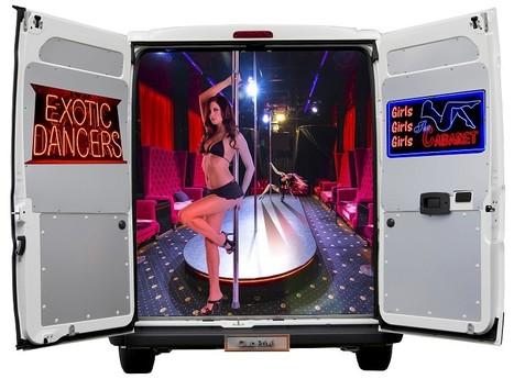 Allestitimento Furgoni per Pole Dancing con Ballerine | allestimento furgoni | Scoop.it