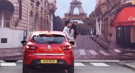 Renault sells French sex appeal with stripped-down dancers, 'va va voom' button | IMAGE pub photo media cinema mode | Scoop.it