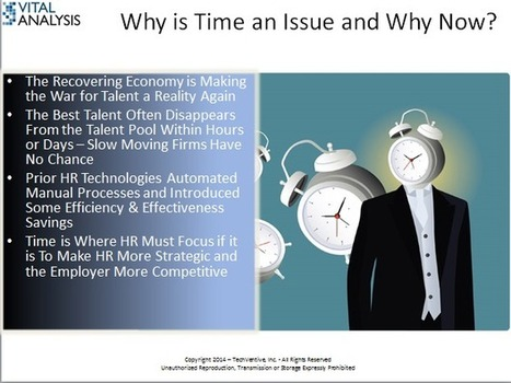 Time is the Enemy of HR (and its Employers) - ZDNet   HR Cult   Scoop.it
