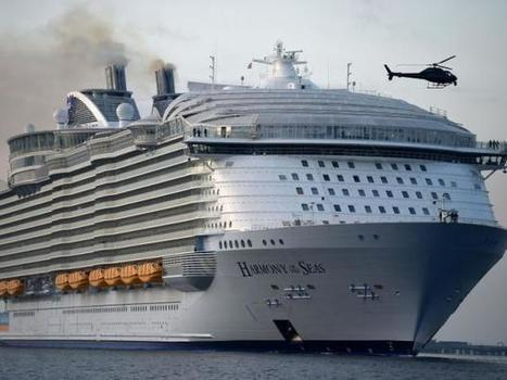 Harmony of the Seas: Biggest cruise ship in the world docks in Southampton | Mediterranean Cruise Advice | Scoop.it