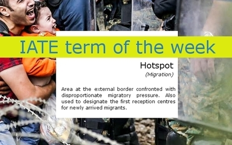 IATE term of the week: Hotspot - | terminology and translation | Scoop.it