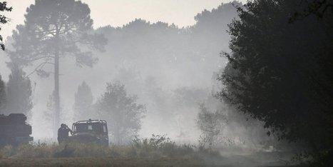Incendies en Gironde : plus de cent hectares partis en fumée ce lundi | Risques majeurs et gestion des sinistres | Scoop.it