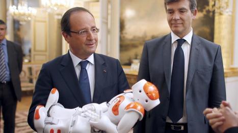 VIDEO. François Hollande rencontre un robot à l'Elysée | Robolution Capital | Scoop.it
