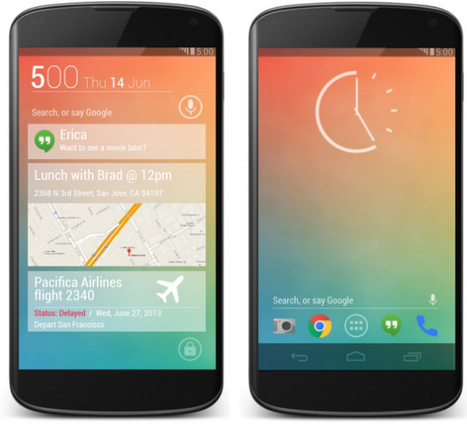 Android 5.0 design concept imagines what the future may hold | Android Discussions | Scoop.it