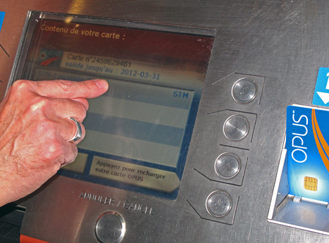 Votre téléphone intelligent comme carte OPUS ? Titre de transport NFC RFID. | Autres Vérités | Scoop.it