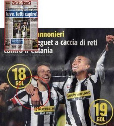 10 Photoshopped Sports Fouls | Strange days indeed... | Scoop.it