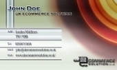 Business card template Ambience | Cheap Business Cards | UK Ecommerce Software Solutions | Online Shopping cart | Scoop.it