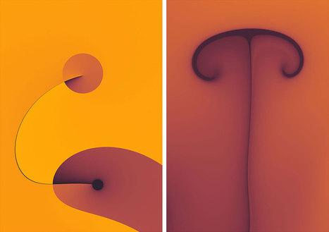 Mesmerizing minimalist fractals | Matmi Staff finds... | Scoop.it