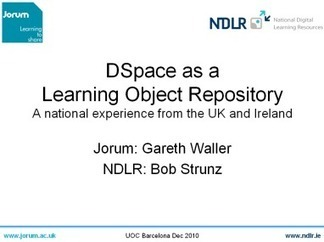 """Seminar """"Learning Object Repositories with DSpace"""" 